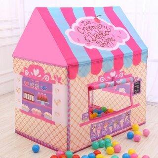 Lều công chúa màu hồng đáng yêu cho bé gái quà tặng đồ chơi cho trẻ em Dreamband - INTL thumbnail