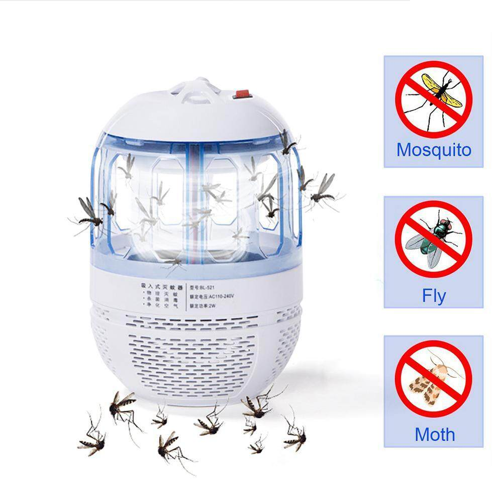 OEM Electric Mosquito Killer Lamp, Electronic Bug Zapper Non-toxic Midge Trap with LED Blue-ray and Quiet Fan Inhaler to Physically Kill Flying Moth