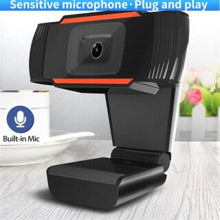 Webcam USB 480P 720P 1080P Độ Phân Giải Cao Cuộc Gọi Video Camera Web 360 Độ Có Thể Xoay Clip-On Webcam Với Micrô Cho PC Máy Tính Xách Tay Máy Tính Xách Tay thumbnail