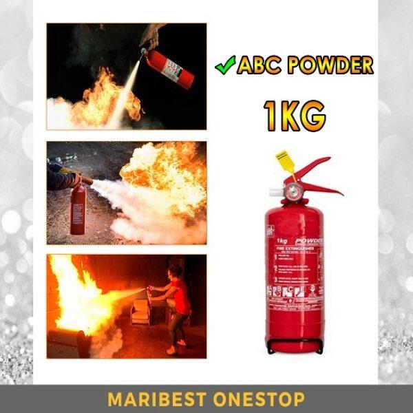 1KG/2KG ABC Powder Fire Extinguisher for Car Home Pemadam Api