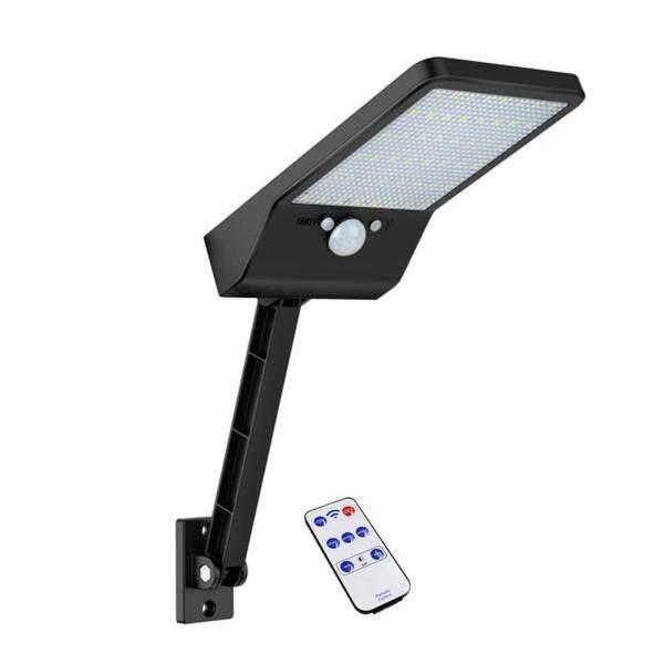 【companionship】48 LED Điều Khiển từ xa Đèn Năng Lượng Mặt Trời CẢM BIẾN Chuyển Động Cảm Biến IP65 Đèn Tường Ngoài Trời Ánh Sáng