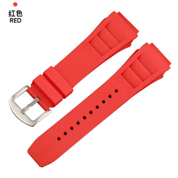 Adapter RICHARD MILLE RICHARD miller spring table ear strap 25 mm rubber soft rubber strap Malaysia