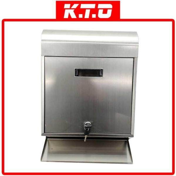 MAILBOX LETTER BOX STAINLESS STEEL WALL MOUNTED