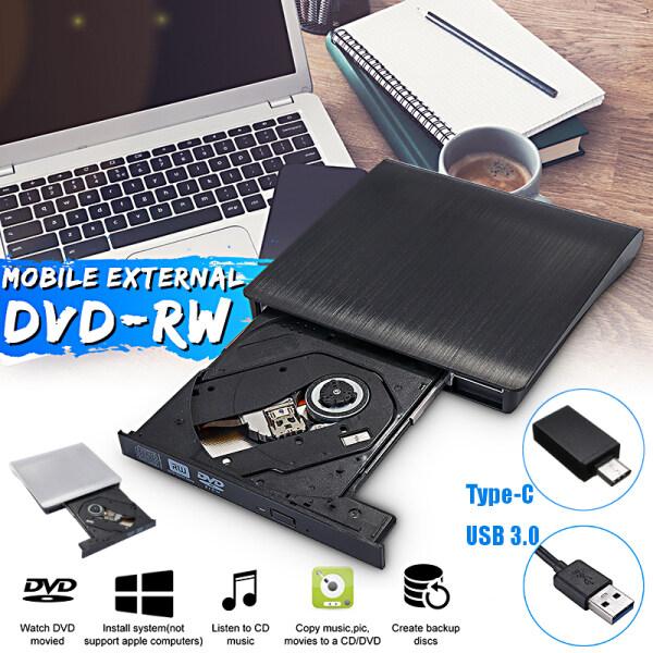 Bảng giá USB 3.0 External CD DVD Writer Drive Slim Portable CD-RW DVD-RW Burner ROM Drive for PC Laptop Phong Vũ