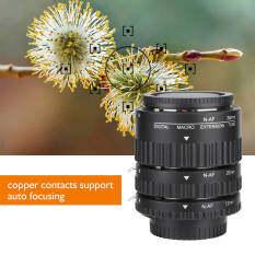 Ống kính mở rộng Macro lấy nét tự động 12mm + 20mm + 36mm nhẹ, chắc chắn và bền cho máy ảnh DSLR Nikon F Mount MK-N-AF1-B