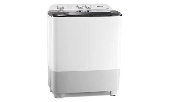 Sharp Twin Tub Semi Auto 7kg Washing Machine Washer Est7015 By Clc Online.