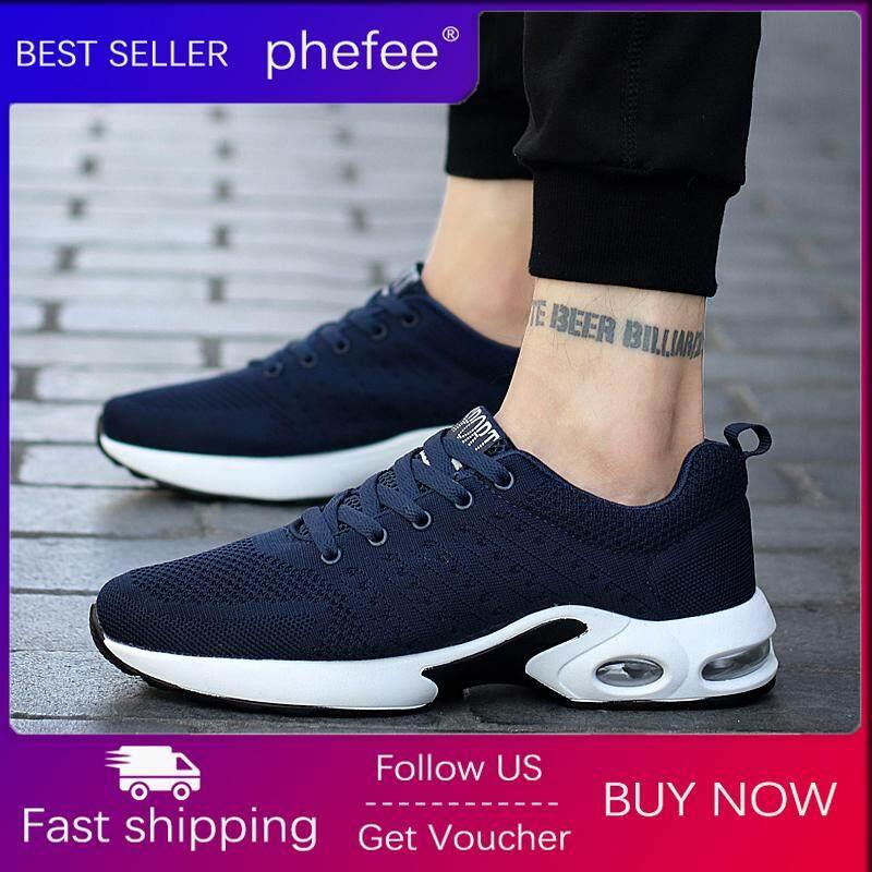 Phefee Pria Kasual Olahraga Outdoor Sepatu 2019 Baru Korea Tren Udara Bantal Bernapas Sneaker Gaya Klasik Sepatu Lari