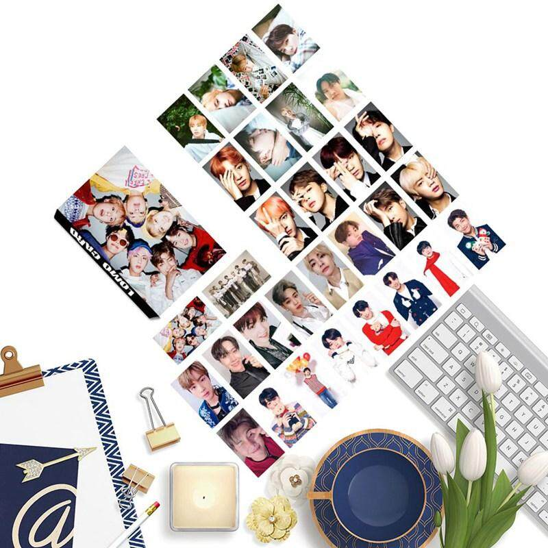CANDY 30 Pcs/ Box Korea Pop Bangtan Boys BTS LOMO HD Small Card