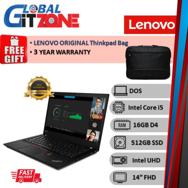 Lenovo Thinkpad T490 20RYS07L00 14 FHD Laptop ( i5-10210U, 16GB, 512GB SSD, Intel, DOS ) NoteBook T490-7L00 Malaysia