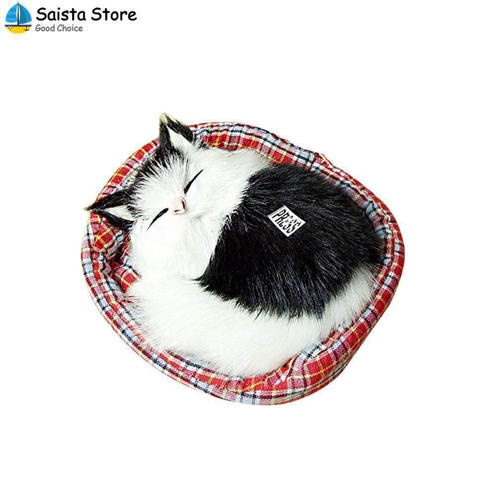 Simulation Doll Plush Sound Toy Cute Cartoon Multicolor Animal Kitten Xmas
