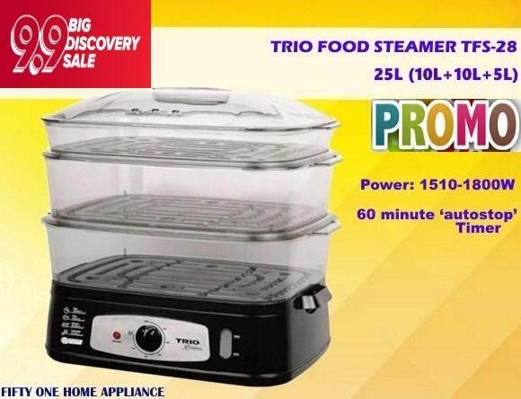 TRIO FOOD STEAMER 25L TFS-28