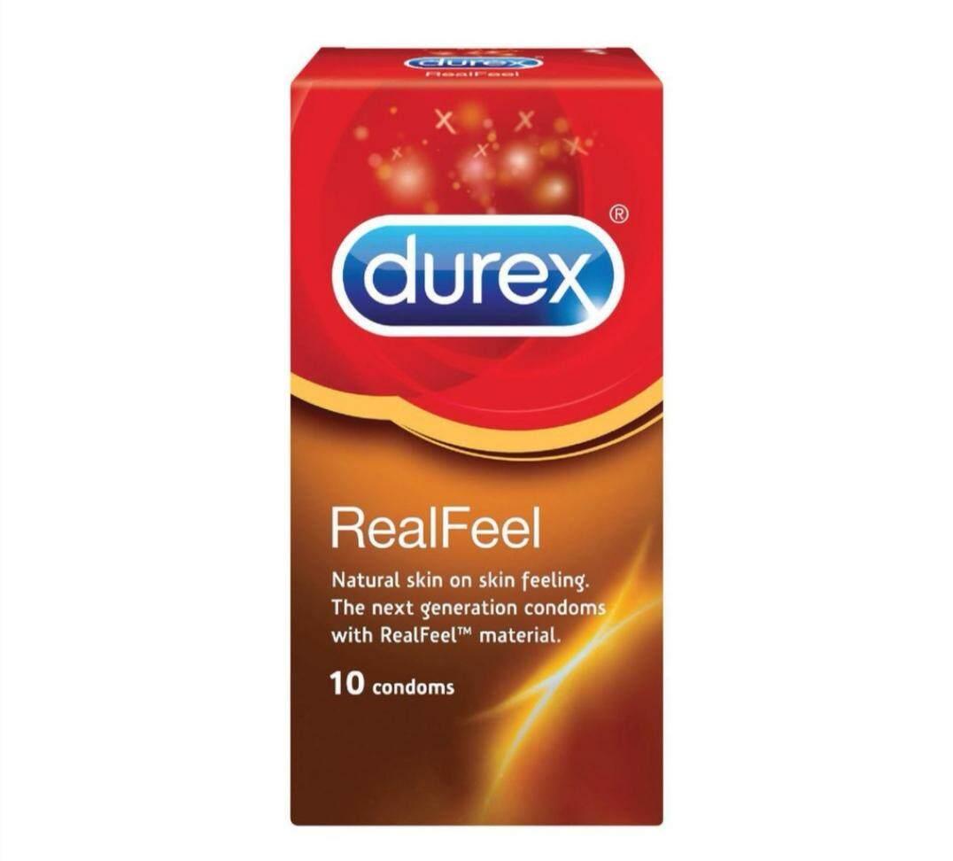 JOM SHOPPING-Durex RealFeel Condom (10's)