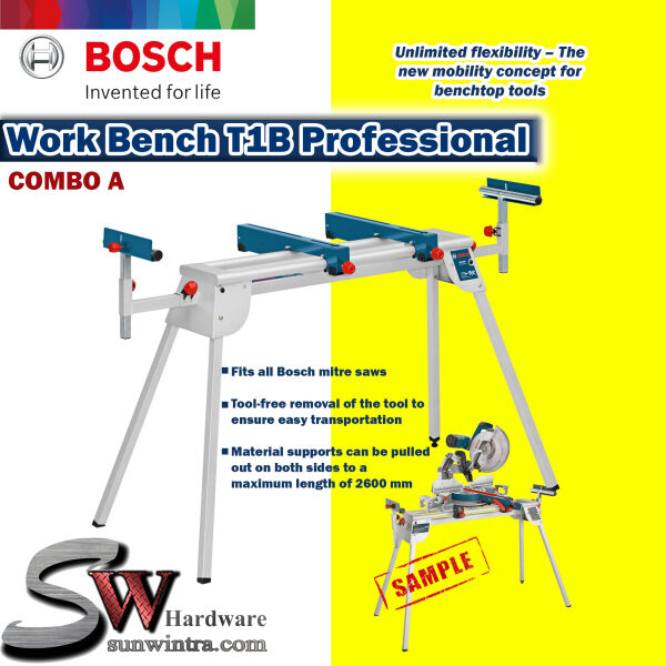 Bosch T1B Mitre Saw Stand / Work Bench for all Bosch Mitre Saw