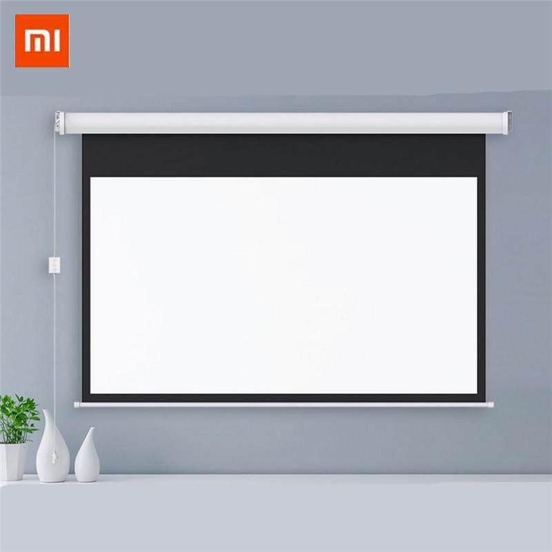 XIAOMI MIJIA Wemax Projector Screen Electric White Plastic Screen 100 inch