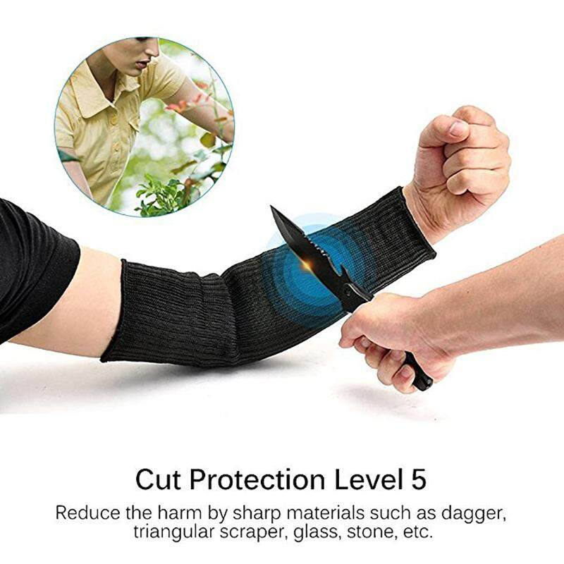 Best Sales Steel Wire Cut Proof Arm Sleeve Guard Bracer Anti Abrasion Armband Protector Anti-Cutting Arms Work Labor Protection Tool