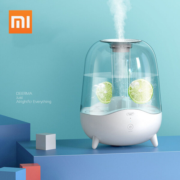 Xiaomi Deerma 5L Aroma Diffuser Ultrasonic Air Humidifier Essential Oil Mist Maker Purifying Dust Filter DEM-F325 Singapore