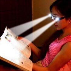 Đèn LED Kính Đọc Sách Chống Bức Xạ Chống Màu Xanh Kính Đọc Sách Với Ánh Sáng + 1.00 + 1.50 + 2.00 + 2.50 + 3.00 + 3.50 + 4.00