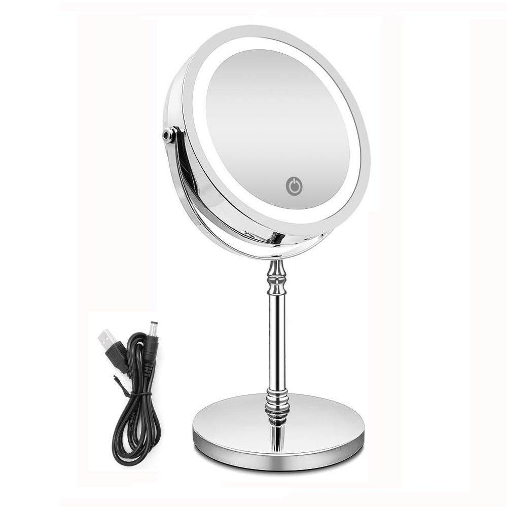 10x 1x Natural Light Tabletop Makeup Mirror Mugeek