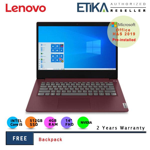 Lenovo IdeaPad 3i 14IIL05 81WD00N1MJ 14 FHD Laptop (Intel I5-1035G1/ 4GB/ 512GB SSD/ MX330 2GD5/ W10+H&S) Malaysia