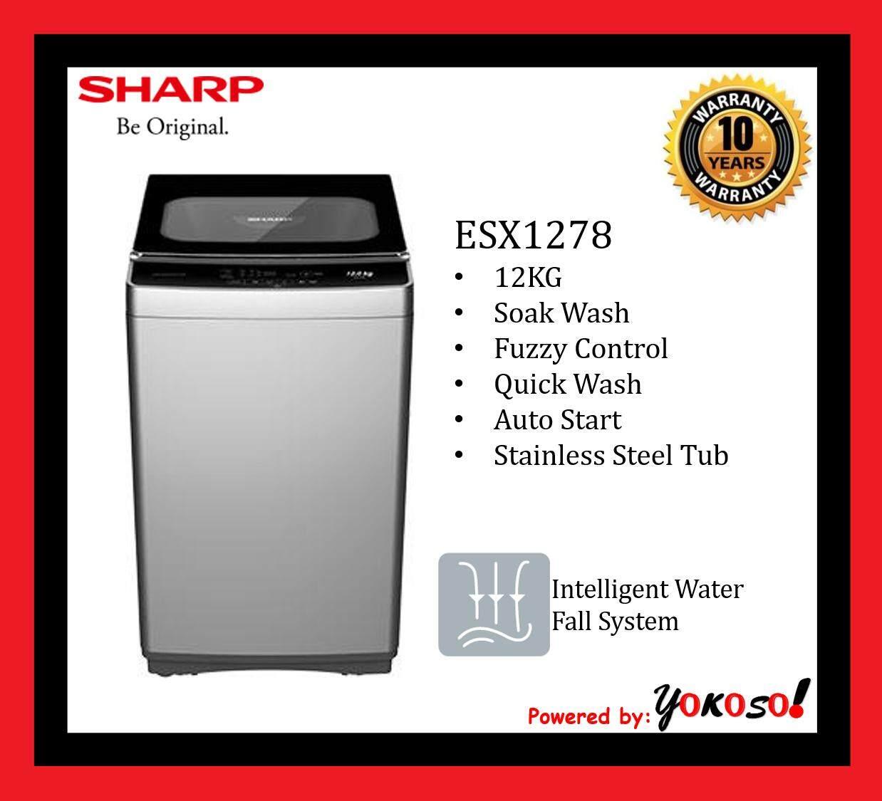 SHARP WASHER ESX1278 12KG
