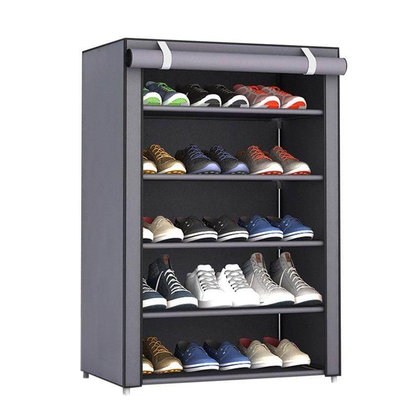Hot Sale Dustproof Large Size Non-Woven Fabric Shoes Rack Shoes Organizer Home Bedroom Dormitory Shoe Racks Shelf Cabinet