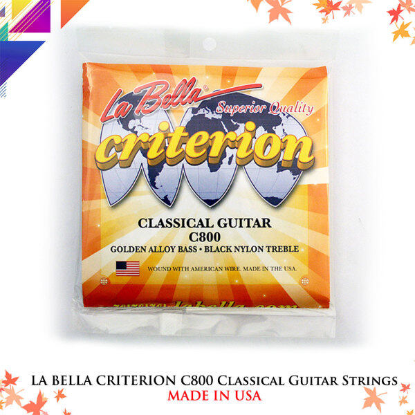 LA BELLA CRITERION C800 Classical Guitar Strings Malaysia