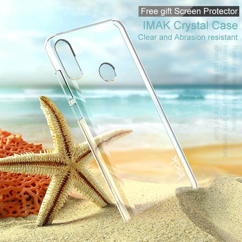 Imak Crystal PENUTUP UNTUK ASUS ZenFone Max Pro M2 ZB631KL 6.26 Inci Keras Sangat Ramping Sarung Plastik UNTUK ZenFone Max M2 ZB633KL
