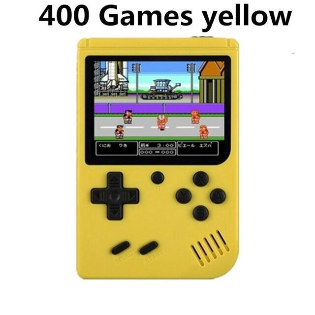 Máy Chơi Video Cổ Điển MINI Cầm Tay 500 Trong 1 Chơi Game Cầm Tay Bé Trai 8 Bit 3.0 Inch Màu Màn Hình LCD, Gameboy Advance