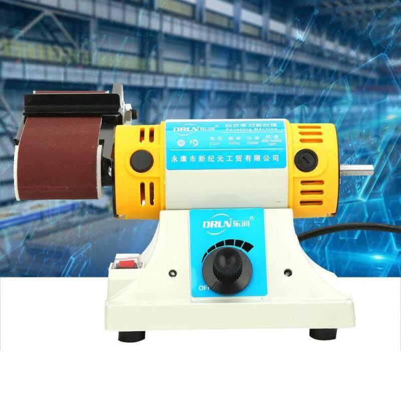 Điện Chà Nhám Để Bàn Đai Nhám Máy Đánh Bóng 750W EU Cắm Vào Ổ Điện 220V