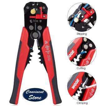✅WG-014 Self - Adjusting ฉนวนคีมปลอกสาย. สำหรับตัดสายไฟ AWG 10-24, การถอดสายไฟอัตโนมัติเครื่องมือ/คีมตัดเครื่องมือ, อัตโนมัติ Strippers พร้อม Cutters & Crimper 8