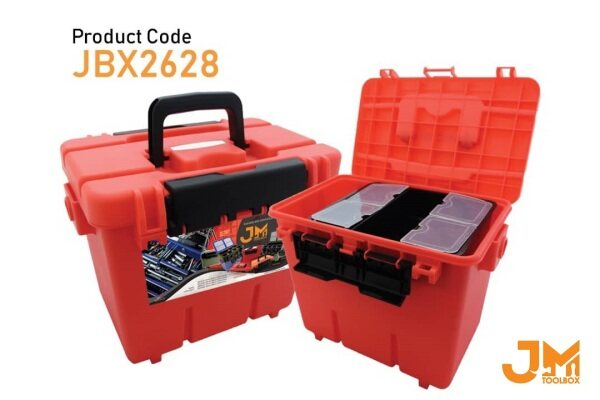 JM Tool Box JBX2628 -  Multipurpose Plastic Tool Box PP