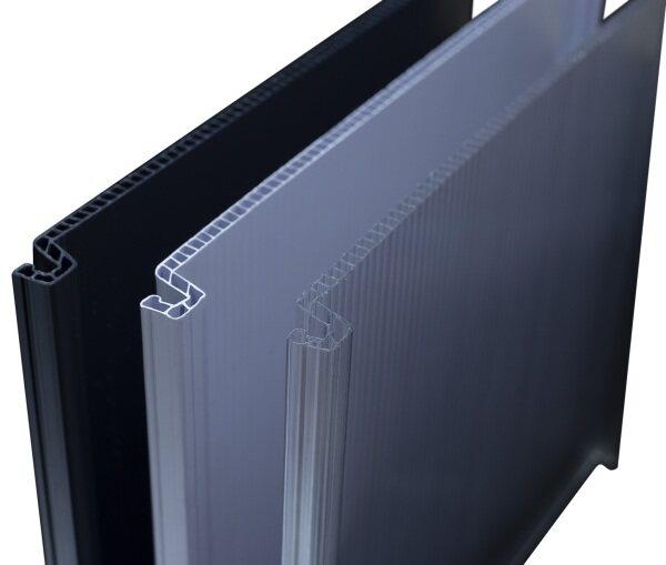 EZ-Lock Innovative Polycarbonate Roofing Sheet