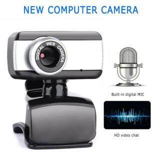 Webcam máy ảnh Mega Pixel USB 2.0 với Clip HD Web Cam có mic cho máy tính xách tay PC thumbnail