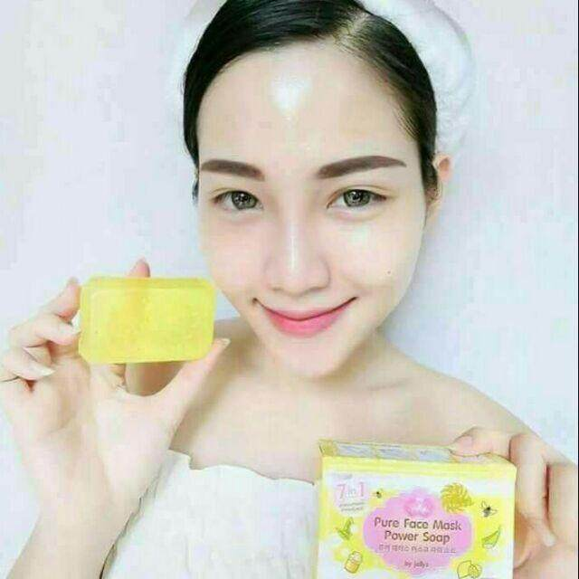 PURE FACE MASK POWER SOAP