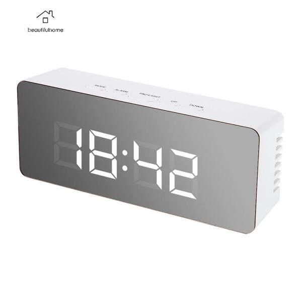 Đồng hồ báo thức đầu giường LED, đồng hồ điện tử kỹ thuật số Cỡ Lớn Để Bàn Có hiển thị nhiệt độ bán chạy