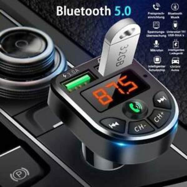 Máy Phát Nhạc Mp3 Aux Usb Bluetooth, Máy Phát Fm Freiprechanla