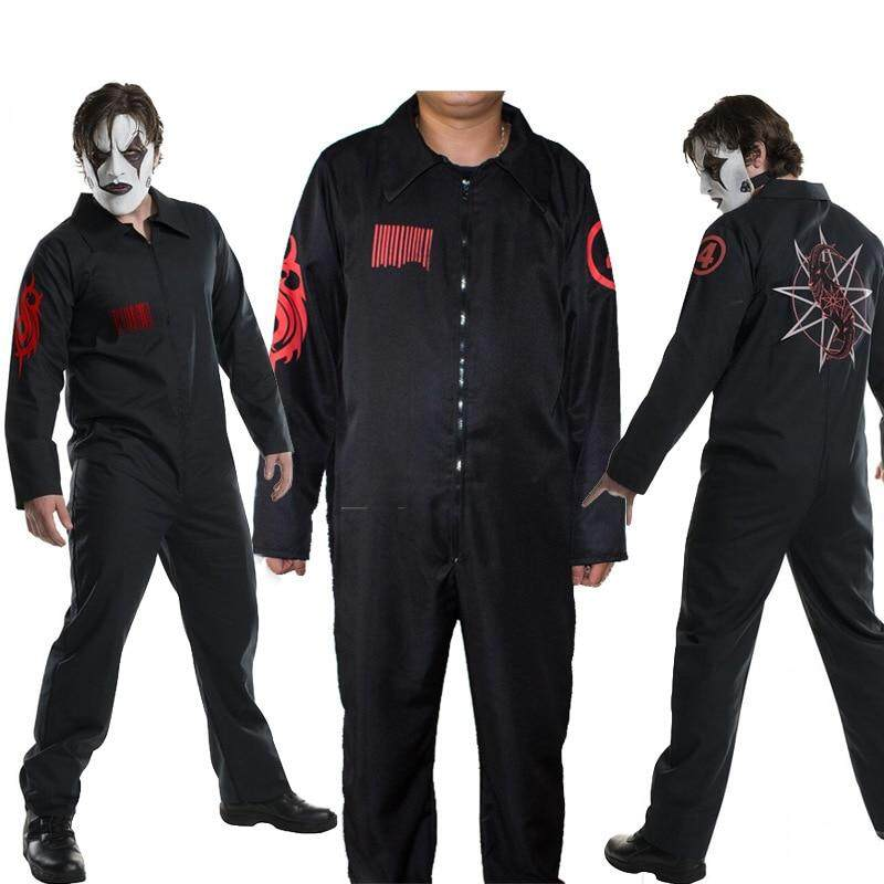 New Slipknot Cosplay Costume Halloween cos live Slipknot band clothes cosplay jumpsuit Performance Clothing for Men