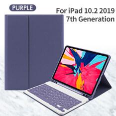 Ốp GOOJODOQ Cho iPad + Bàn Phím Bluetooth + Chuột iPad 9.7 2017 2018 2019 10.2 Thế Hệ Thứ 5 Thứ 6 Thứ 7 Cho iPad Air 1 2 3 Pro 9.7 10.5 11 Ốp Lưng
