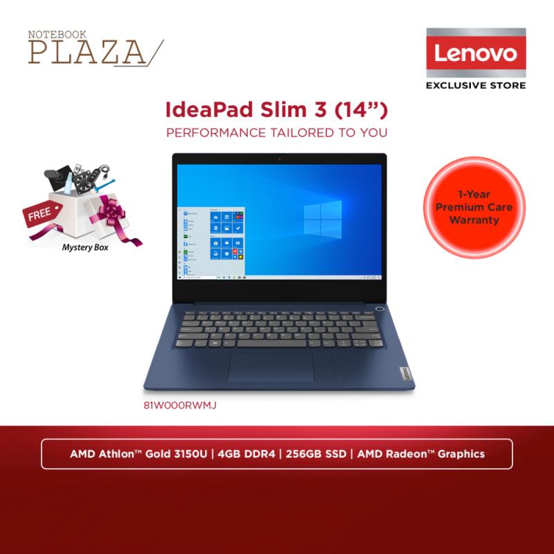Lenovo Ideapad 3-14ADA 81W000RWMJ 14 Laptop Abyss Blue ( Athlon 3150U, 4GB, 256GB SSD, Intel, W10 ) Malaysia