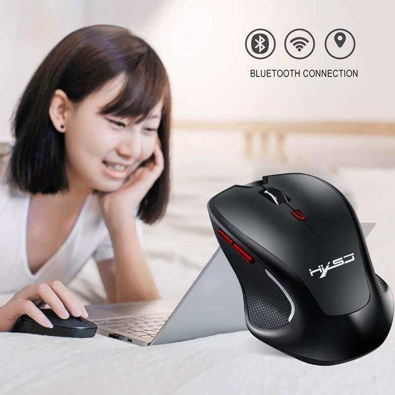 Bluetooth 3.0 Chuột Máy Tính Không Dây 2400 DPI Có Thể Điều Chỉnh Chuột Cho Máy Tính Laptop Giá Quá Ưu Đãi