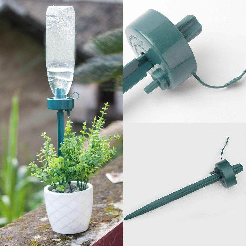 Automatic Watering Irrigation Spike Garden Plant Bottle Drip Water Sprinkler