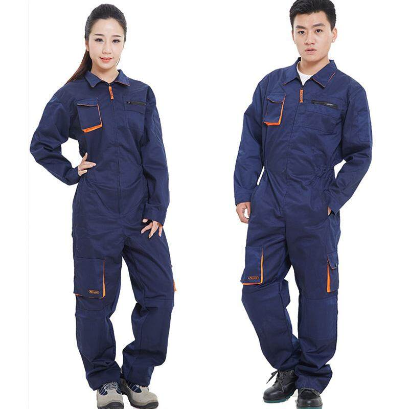 Work Clothing Men Women Long Sleeve Coveralls High Quality Overalls for Worker Repairman Machine Auto Repair Welding Large Size