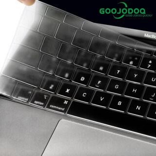 GOOJODOQ Màng Bảo Vệ Silicon Trong Suốt, Cho Bàn Phím Apple, Tất Cả Các Dòng, MacBook Pro 13 11Air 13 15 Retina 12 Inch, Tương Thích Với EU US thumbnail