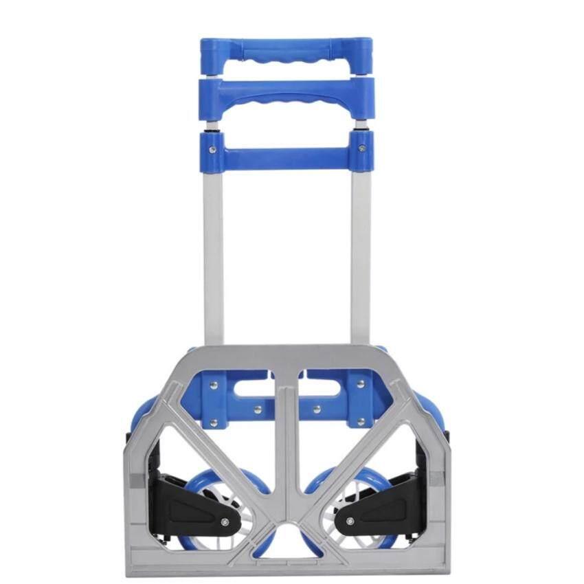 Heavy Duty Foldable Hand Trolley Shopping Luggage Truck 75KG Load