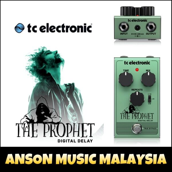 TC Electronic The Prophet Digital Delay Guitar Effect Pedal Malaysia