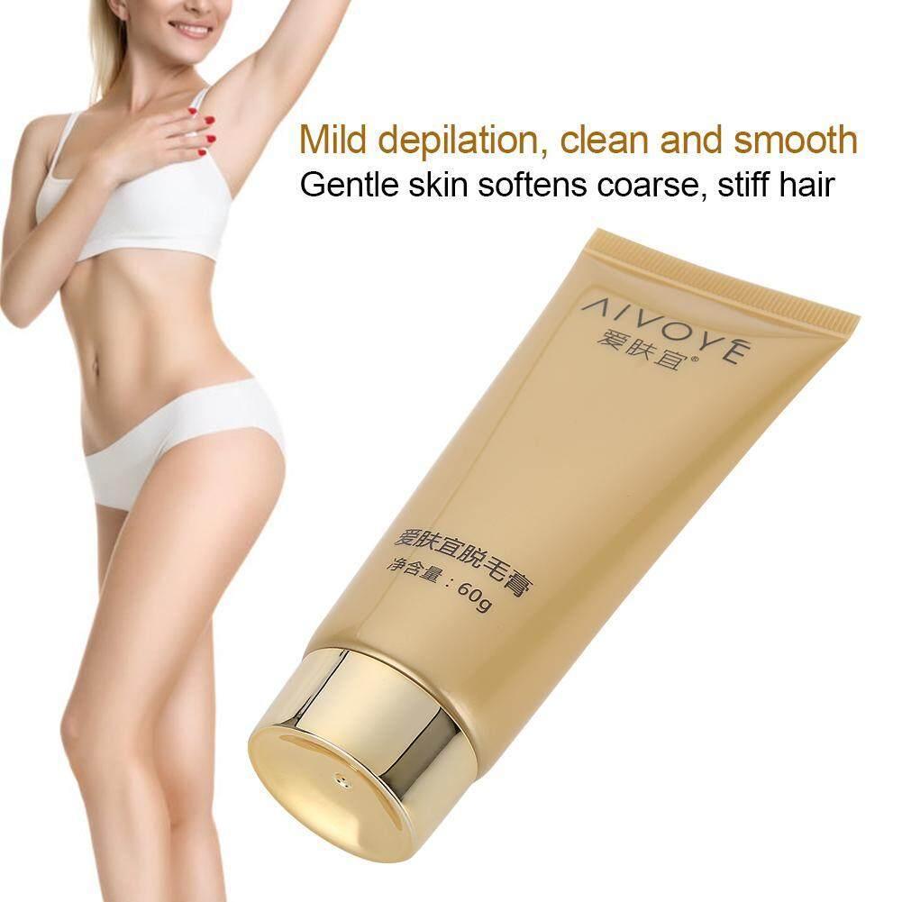 60g Tẩy Lông Epilatory Kem Sát Nách Chân Ngực Bikini Tóc Rụng Lông Dán nhập khẩu