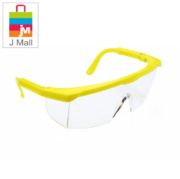 J MALL New Safety Eye Protection PPE Glasses Goggle Spec Premium Black (175-1) & Yellow (175-2)