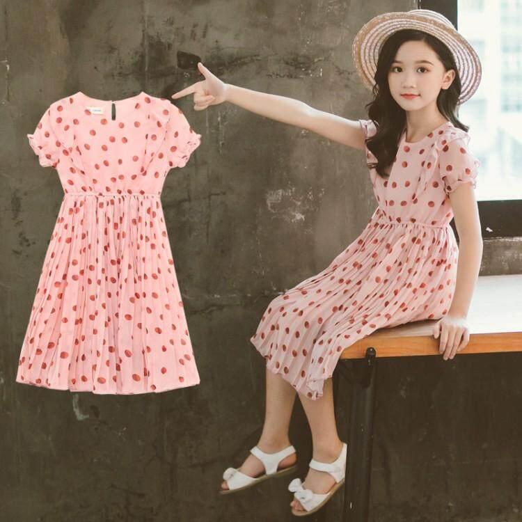 Giá bán Váy Bé Gái Mùa Hè 2019 Mới Cho Trẻ Em Siêu Công Chúa Voan Nước Ngoài Váy Lưới Màu Đỏ Trẻ Em Váy Bé Gái