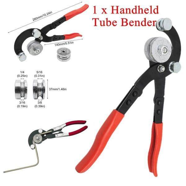 LO 【Ready】 1pc Tube Bender Handheld Bending Tool Pipe Bender 3/16 , 1/4 , 5/16 , 3/8