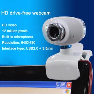 BUCHE Video Recording USB Laptop Computer Rotatable Night Vision HD Webcam With Mic Computer Camera HD thumbnail